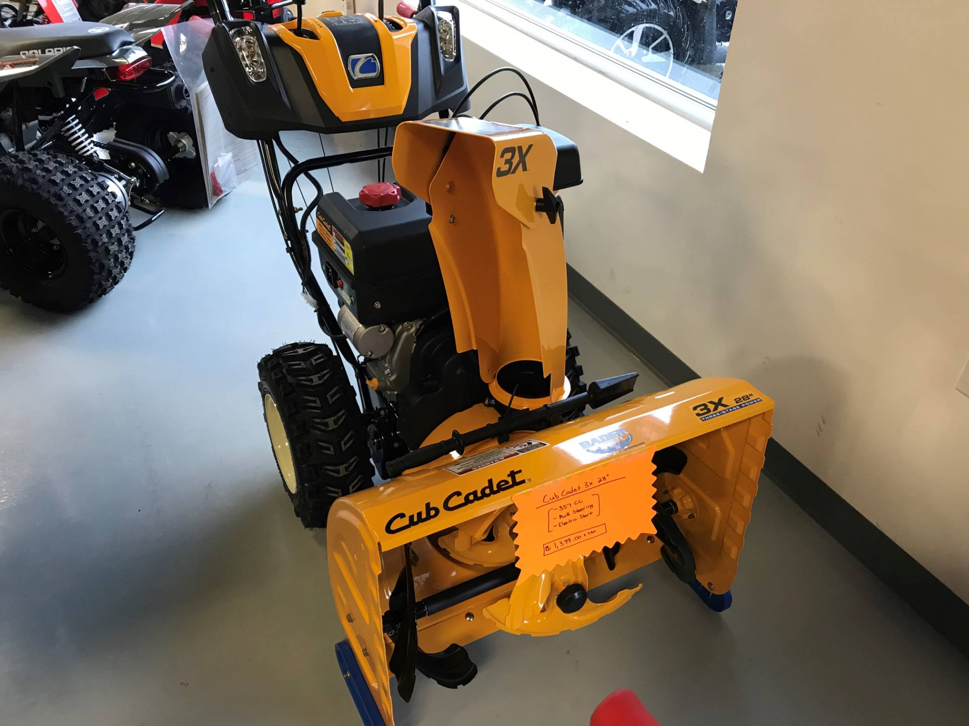 Cub Cadet 3X 28 in. in Hillman, Michigan - Photo 1
