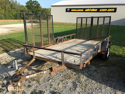 2007 Carry-On Trailers 6 x 12 2990 LB in Hillman, Michigan