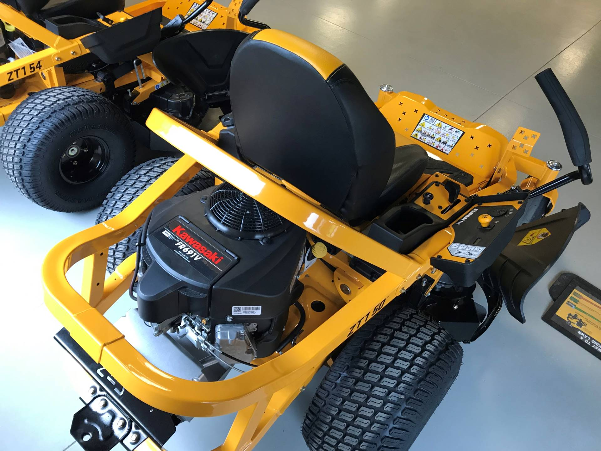 2019 Cub Cadet ZT1 50 in. Kawasaki FR 23 hp in Hillman, Michigan - Photo 1