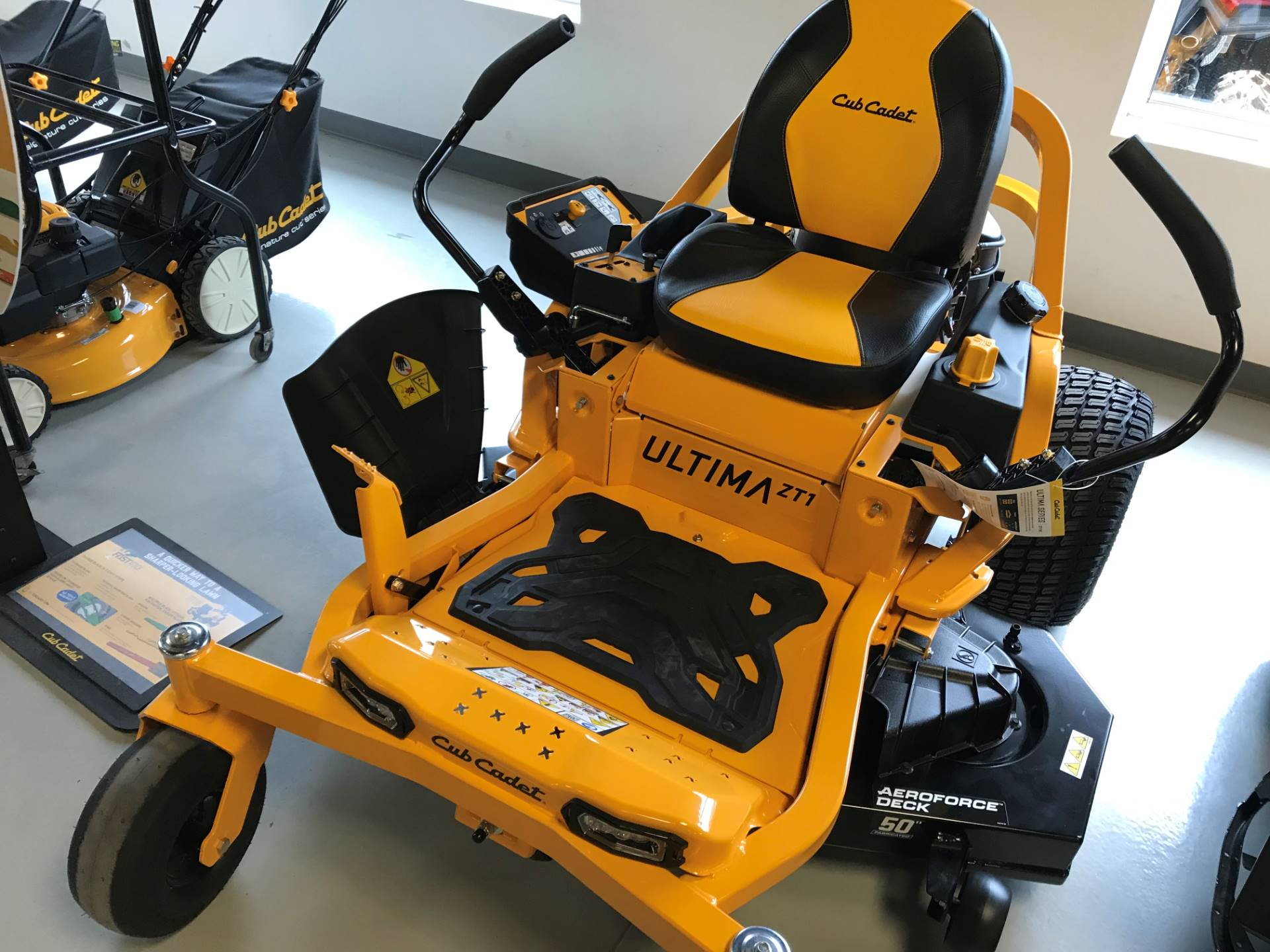 2019 Cub Cadet ZT1 50 in. Kawasaki FR Series 23 hp in Hillman, Michigan - Photo 2
