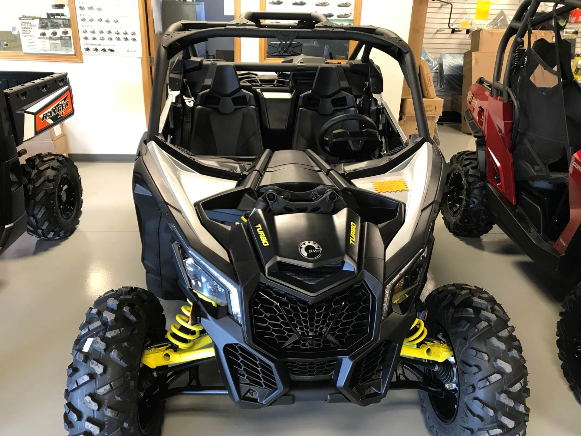 2018 Can-Am Maverick X3 Turbo in Hillman, Michigan