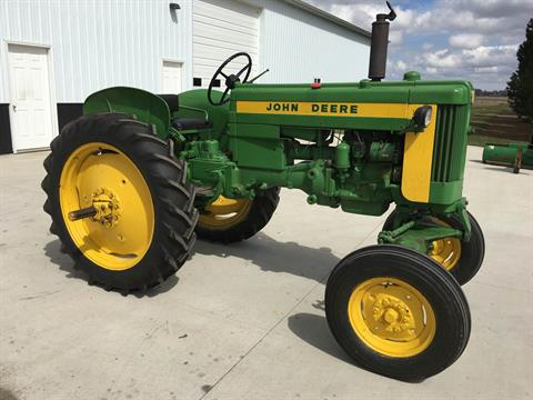 1958 John Deere 420 in Hillman, Michigan