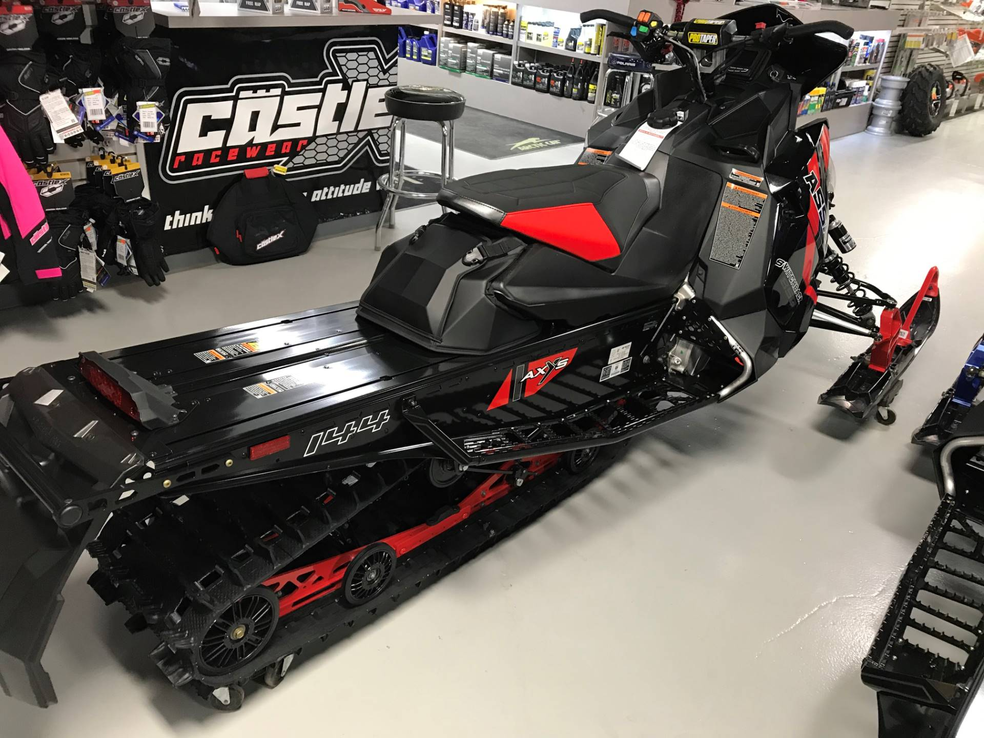 2021 Polaris 850 Switchback Assault 144 Factory Choice in Hillman, Michigan - Photo 5
