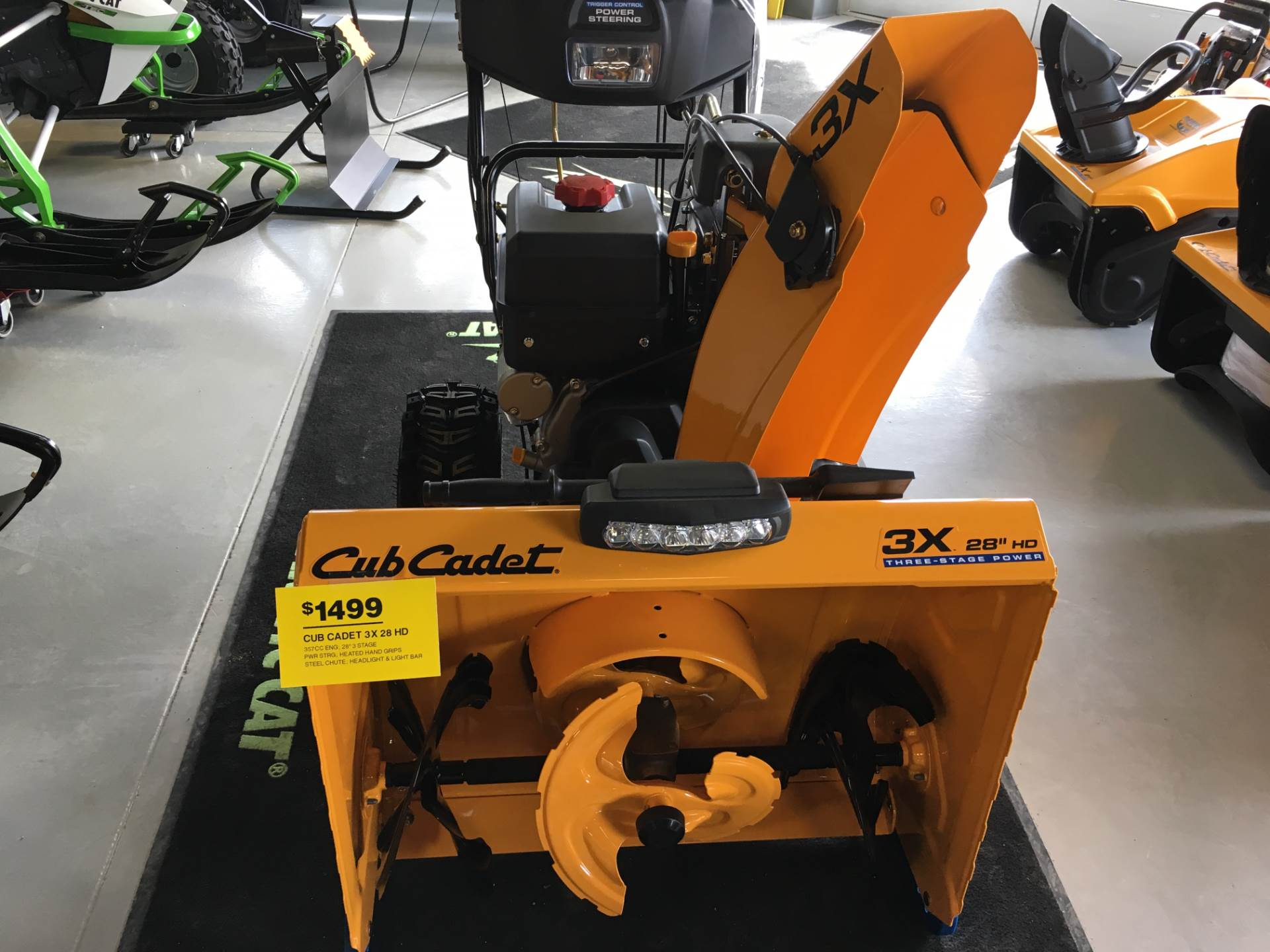 2017 Cub Cadet 3X 28 in. HD in Hillman, Michigan
