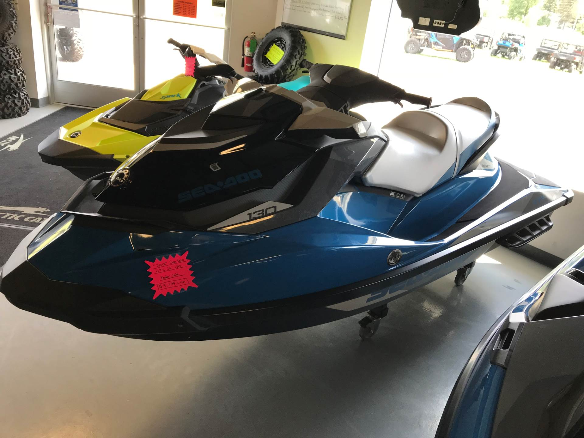 2018 Sea-Doo GTI SE 130 in Hillman, Michigan