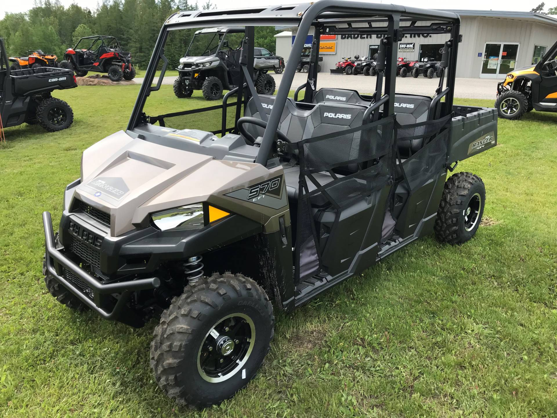 2019 Polaris Ranger Crew 570-4 EPS in Hillman, Michigan - Photo 1