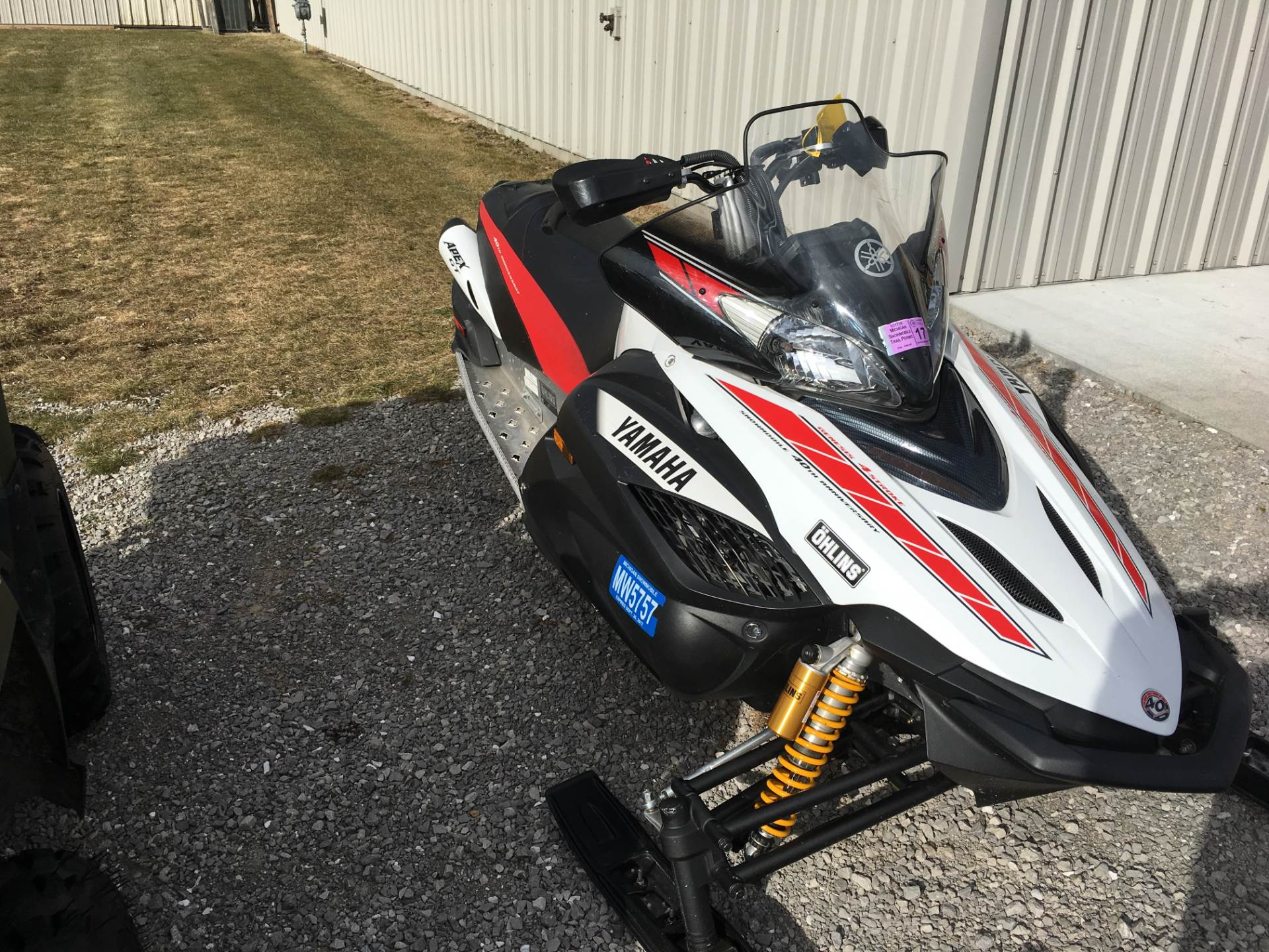 2008 Yamaha Apex GT in Hillman, Michigan