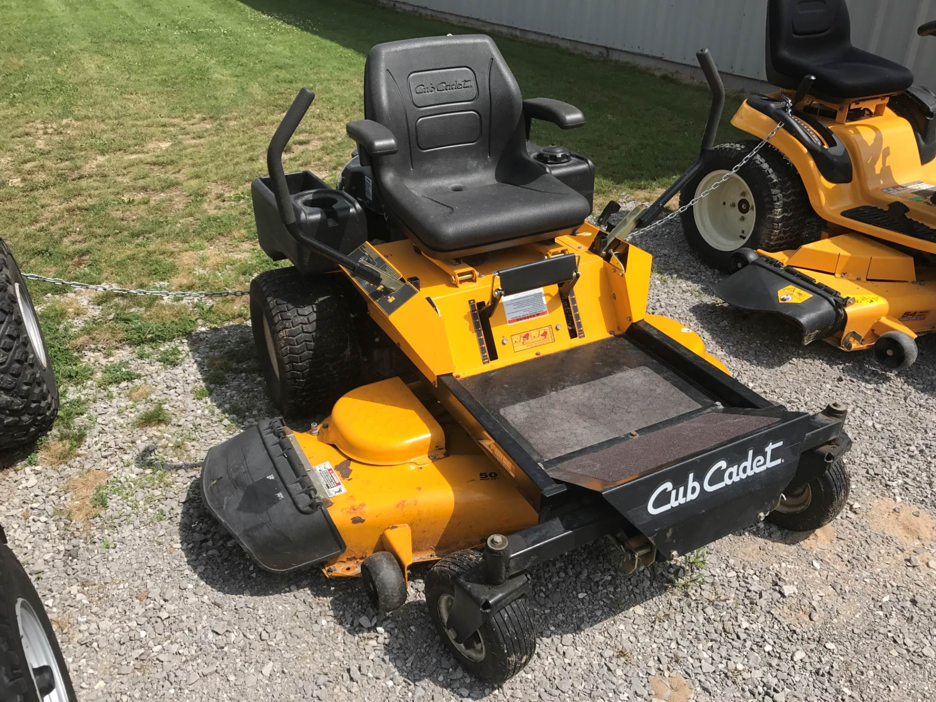 used 2006 cub cadet z force 50 lawn mowers in hillman mi stock number c1234. Black Bedroom Furniture Sets. Home Design Ideas