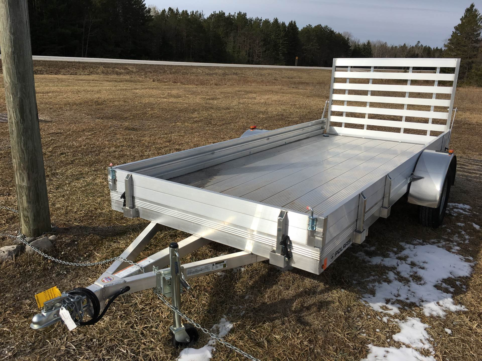 2017 Alcom Trailer ranger 14 lite in Hillman, Michigan