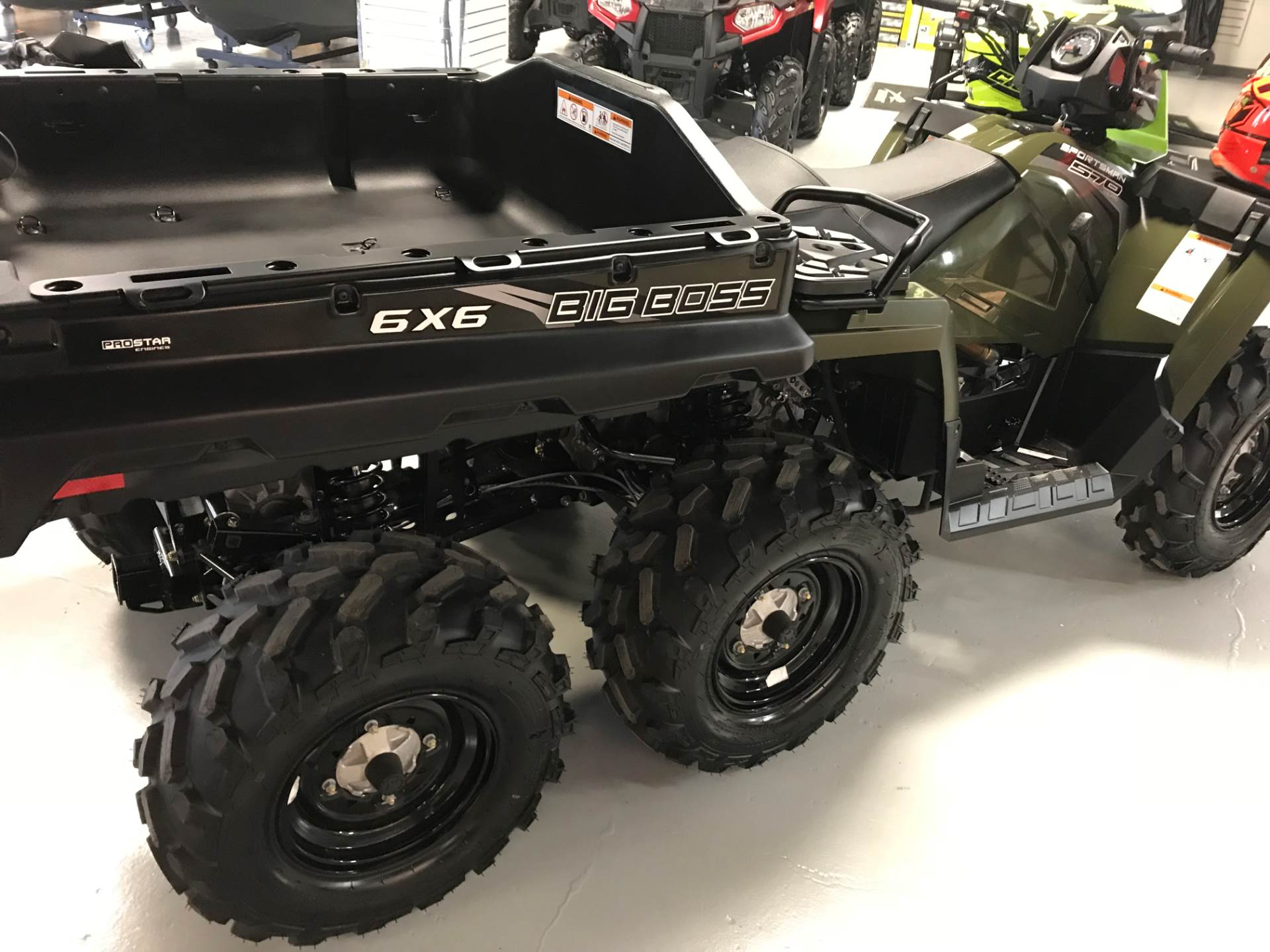 2017 Polaris Sportsman Big Boss 6x6 570 EPS in Hillman, Michigan