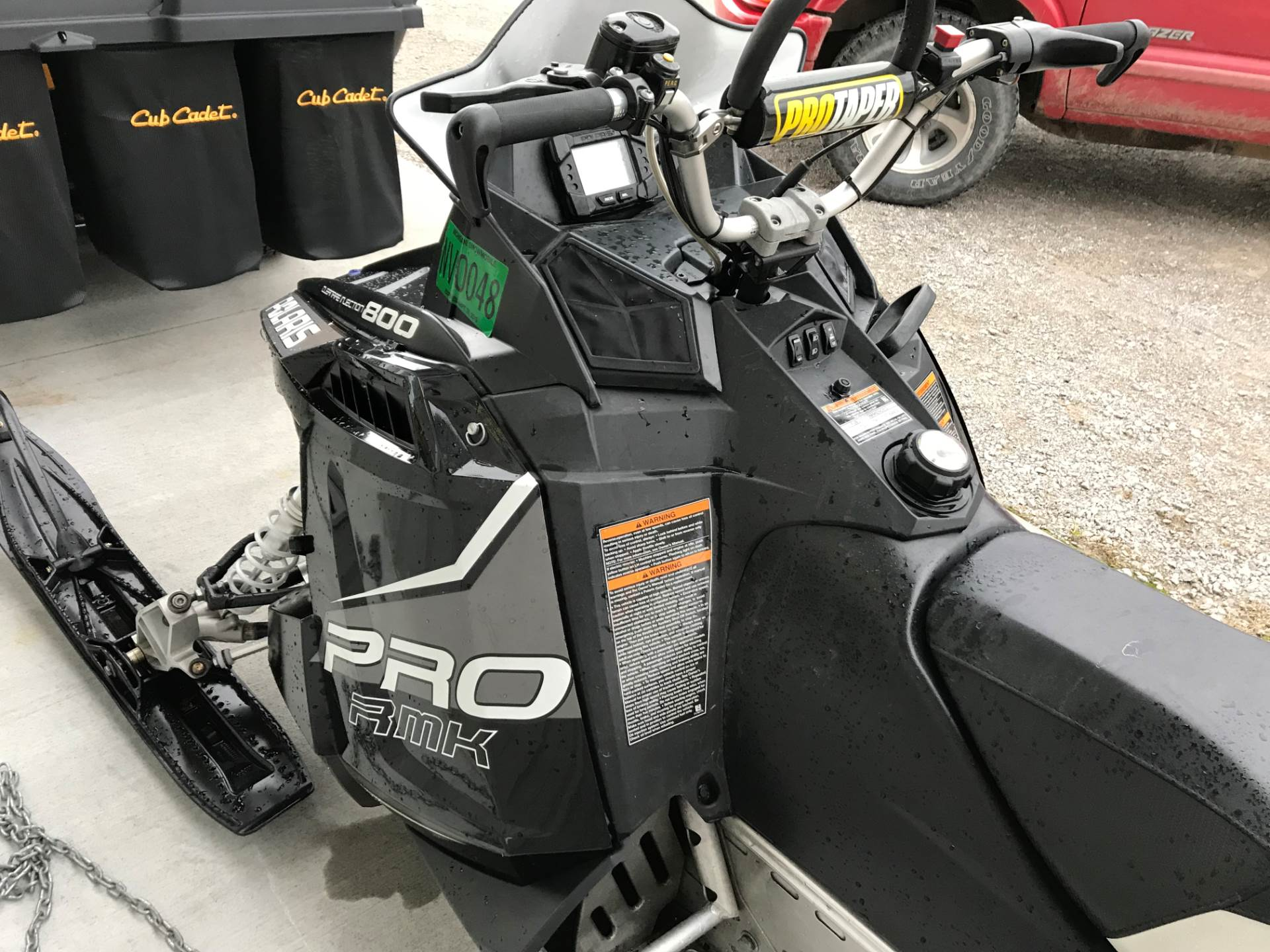 2013 Polaris 800 PRO-RMK® 155 in Hillman, Michigan
