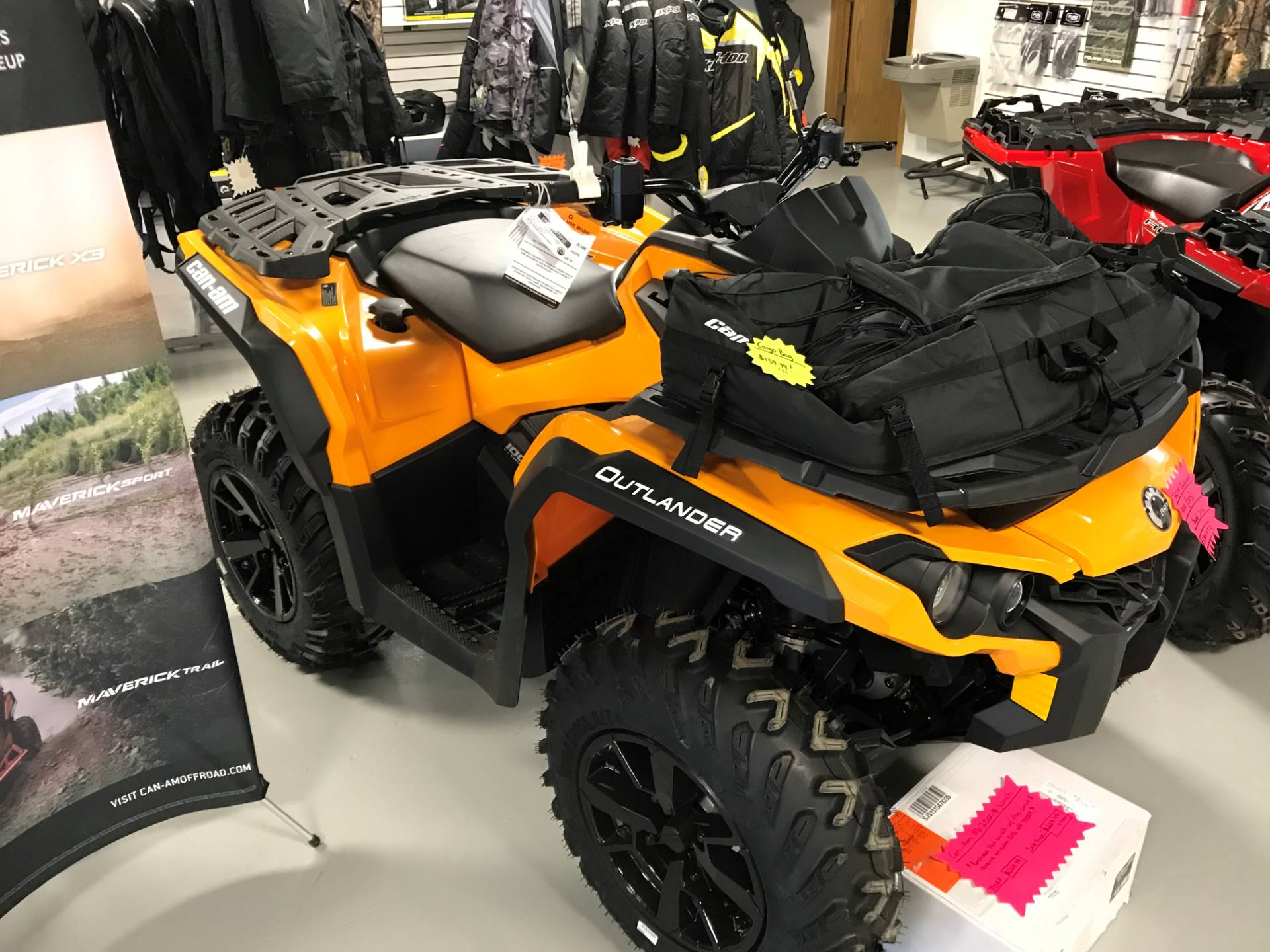 2019 Can-Am Outlander DPS 1000R in Hillman, Michigan - Photo 1