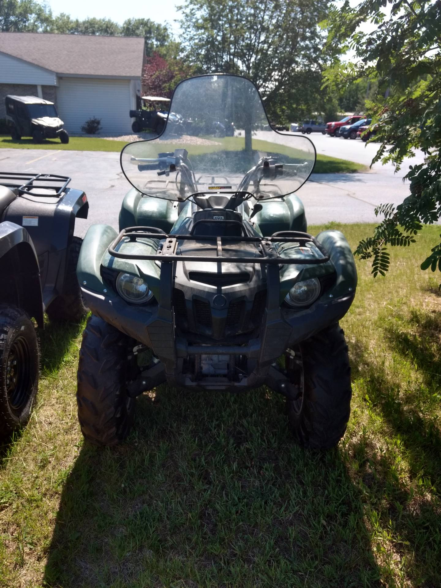2012 Yamaha Grizzly 550 FI Auto. 4x4 in Escanaba, Michigan - Photo 1