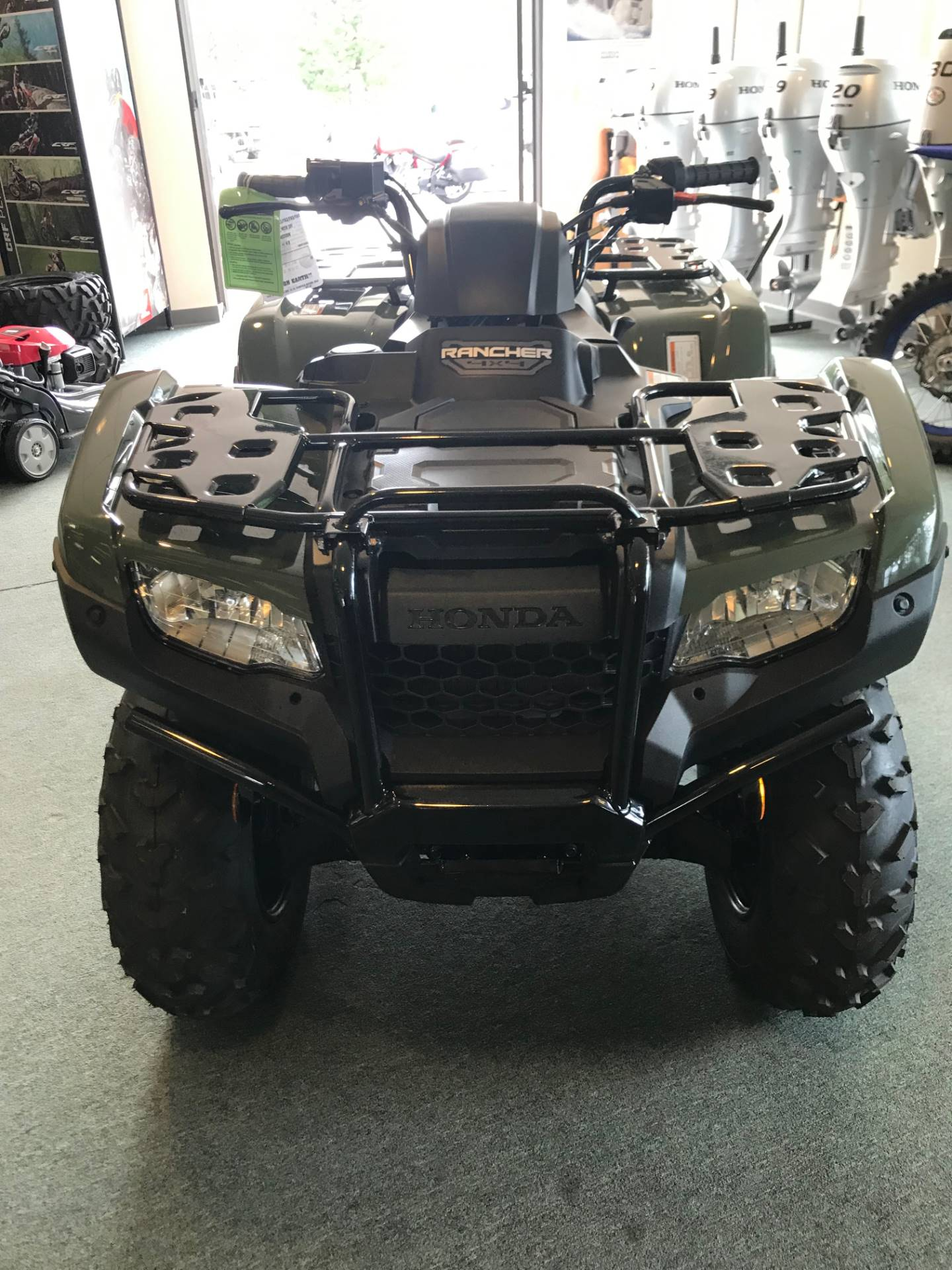 2020 Honda FourTrax Rancher 4x4 in Escanaba, Michigan - Photo 2