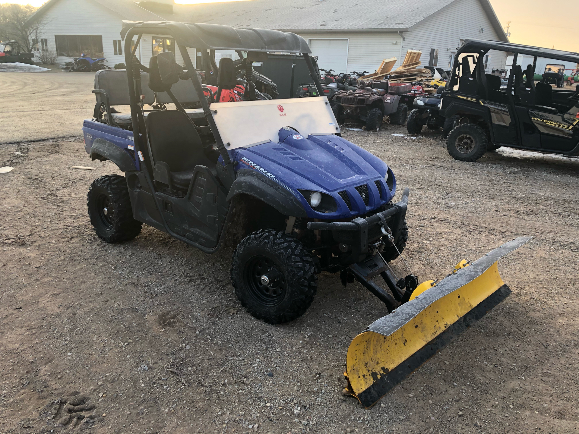 2012 Yamaha Rhino 700 FI Auto. 4x4 in Escanaba, Michigan - Photo 2
