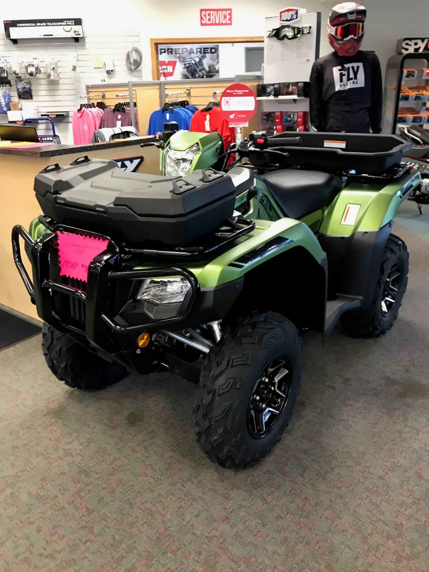 2020 Honda FourTrax Foreman Rubicon 4x4 Automatic DCT EPS Deluxe in Escanaba, Michigan - Photo 1