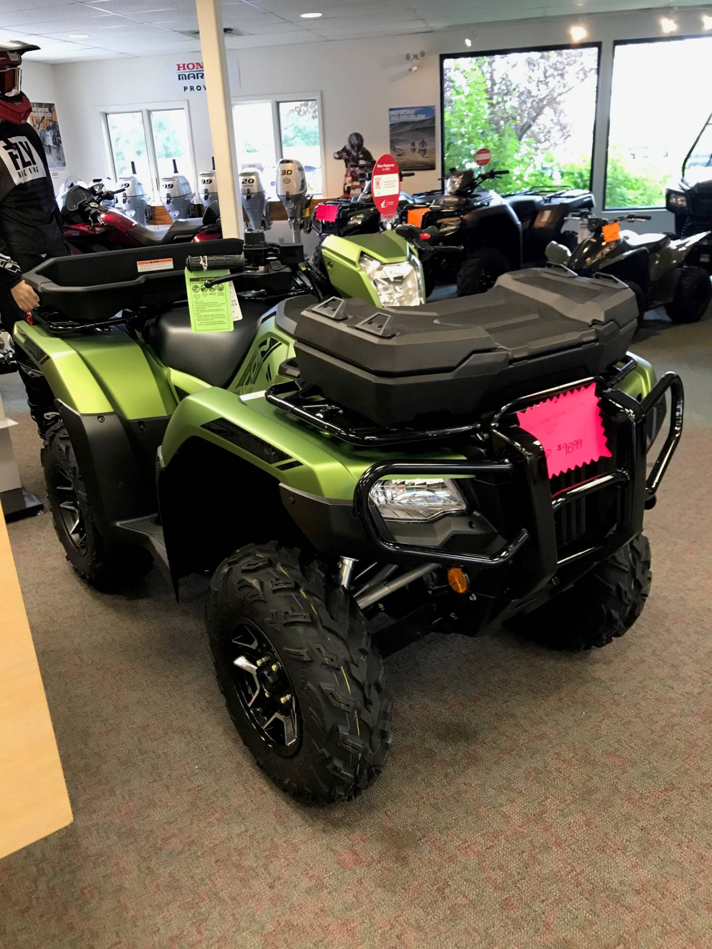 2020 Honda FourTrax Foreman Rubicon 4x4 Automatic DCT EPS Deluxe in Escanaba, Michigan - Photo 3