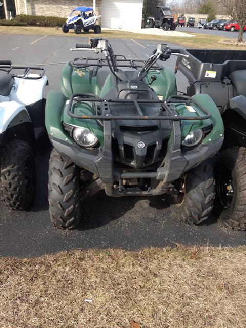 2012 Yamaha Grizzly 550 FI Auto. 4x4 EPS in Escanaba, Michigan