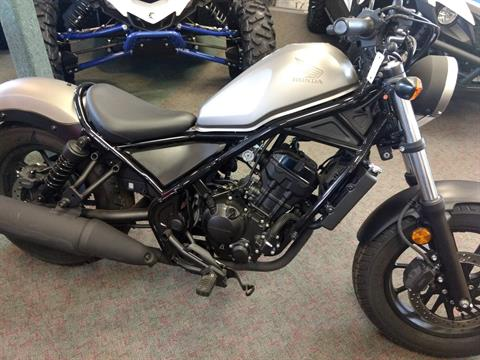 2018 Honda Rebel 300 in Escanaba, Michigan - Photo 1