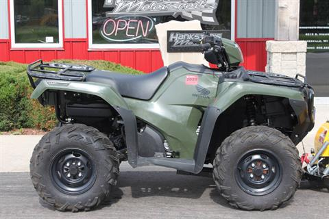 2017 Honda FourTrax Foreman Rubicon 4x4 DCT in Janesville, Wisconsin