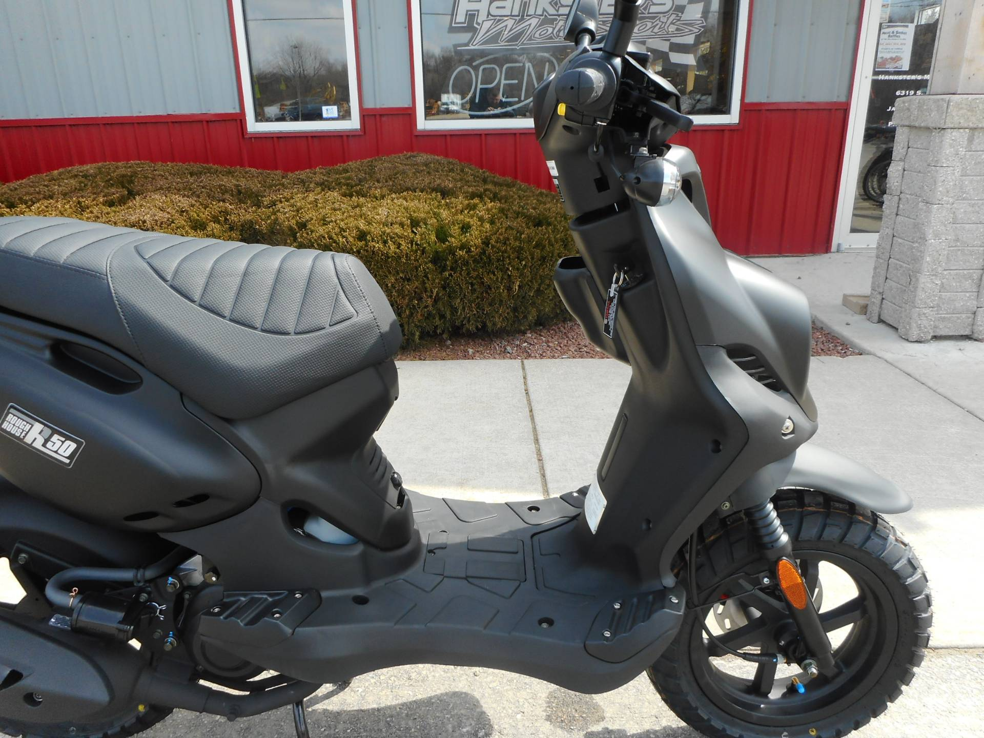 2018 Genuine Scooters Roughhouse 50 in Janesville, Wisconsin