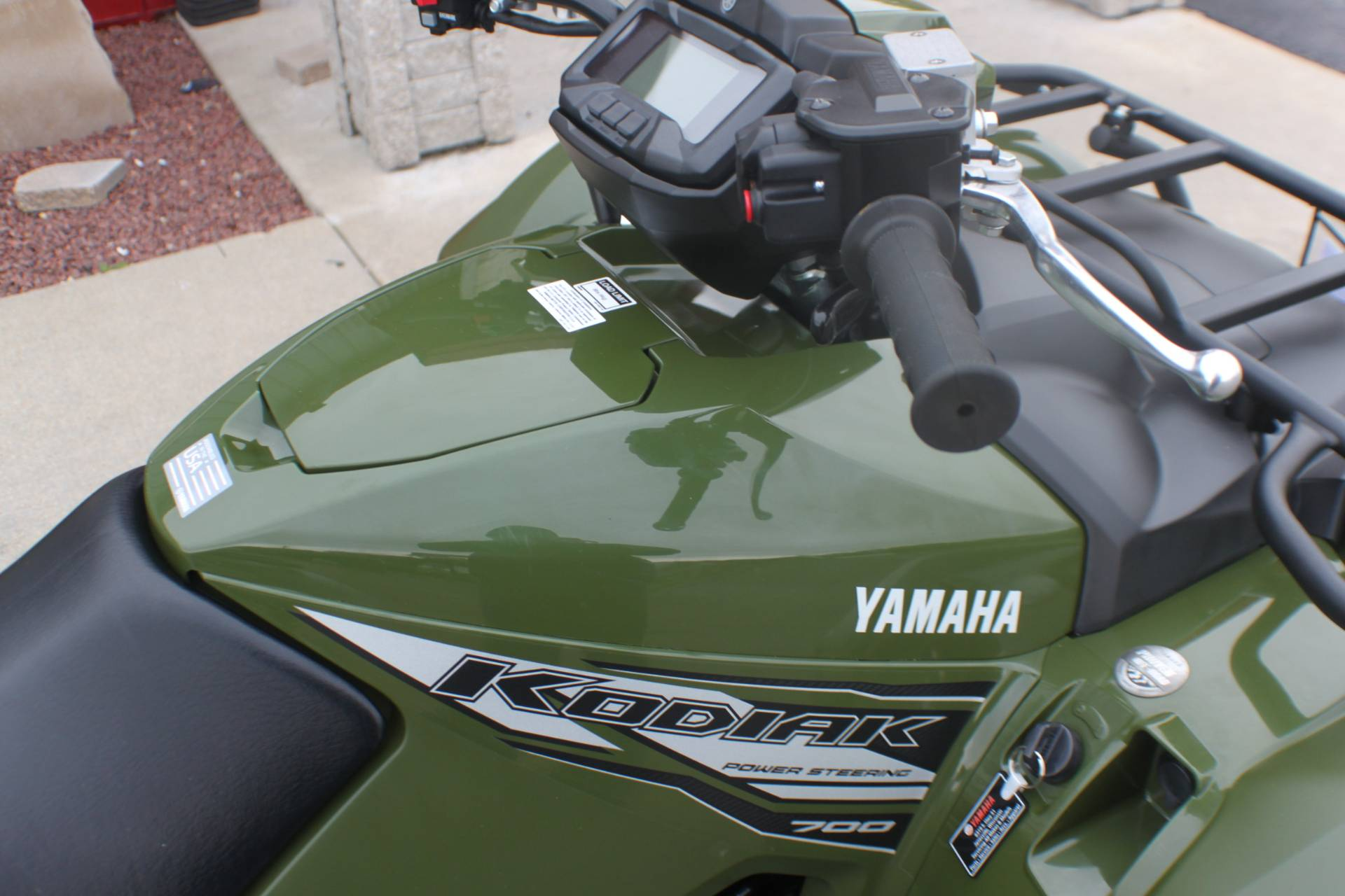 2020 Yamaha Kodiak 700 EPS in Janesville, Wisconsin - Photo 9