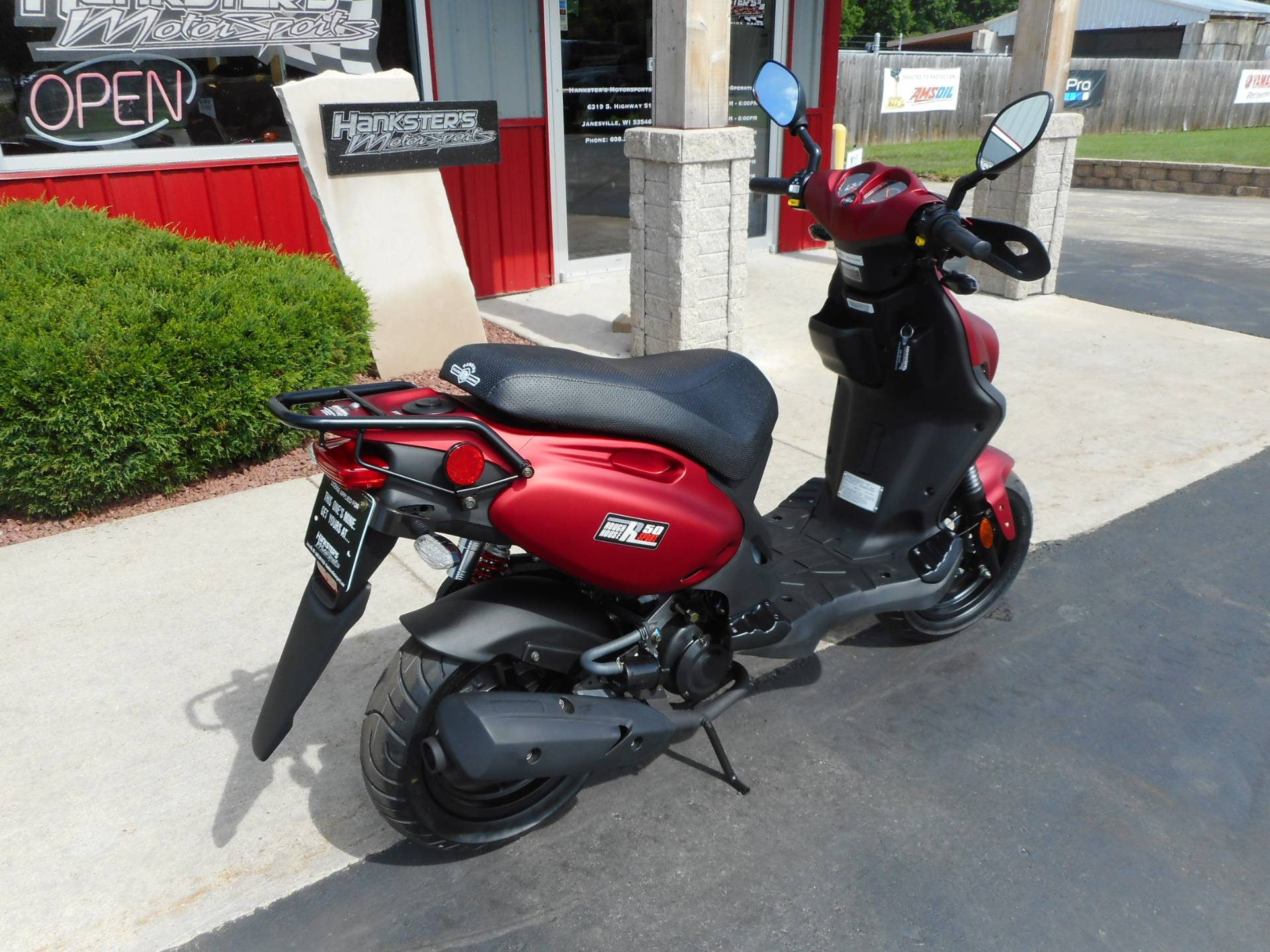2019 Genuine Scooters ROUGHHOUSE SPORT 50 in Janesville, Wisconsin