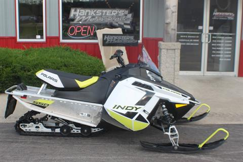 2019 Polaris 550 INDY 121 ES in Janesville, Wisconsin