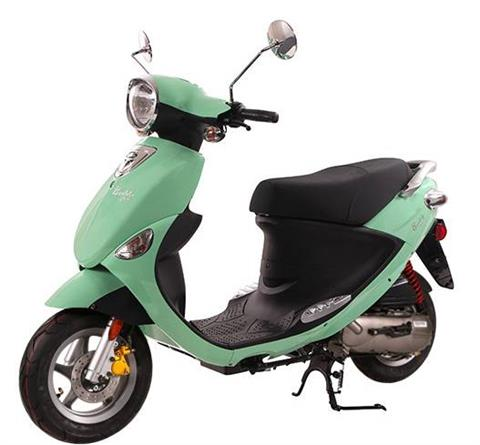 2020 Genuine Scooters BUDDY 50 in Janesville, Wisconsin
