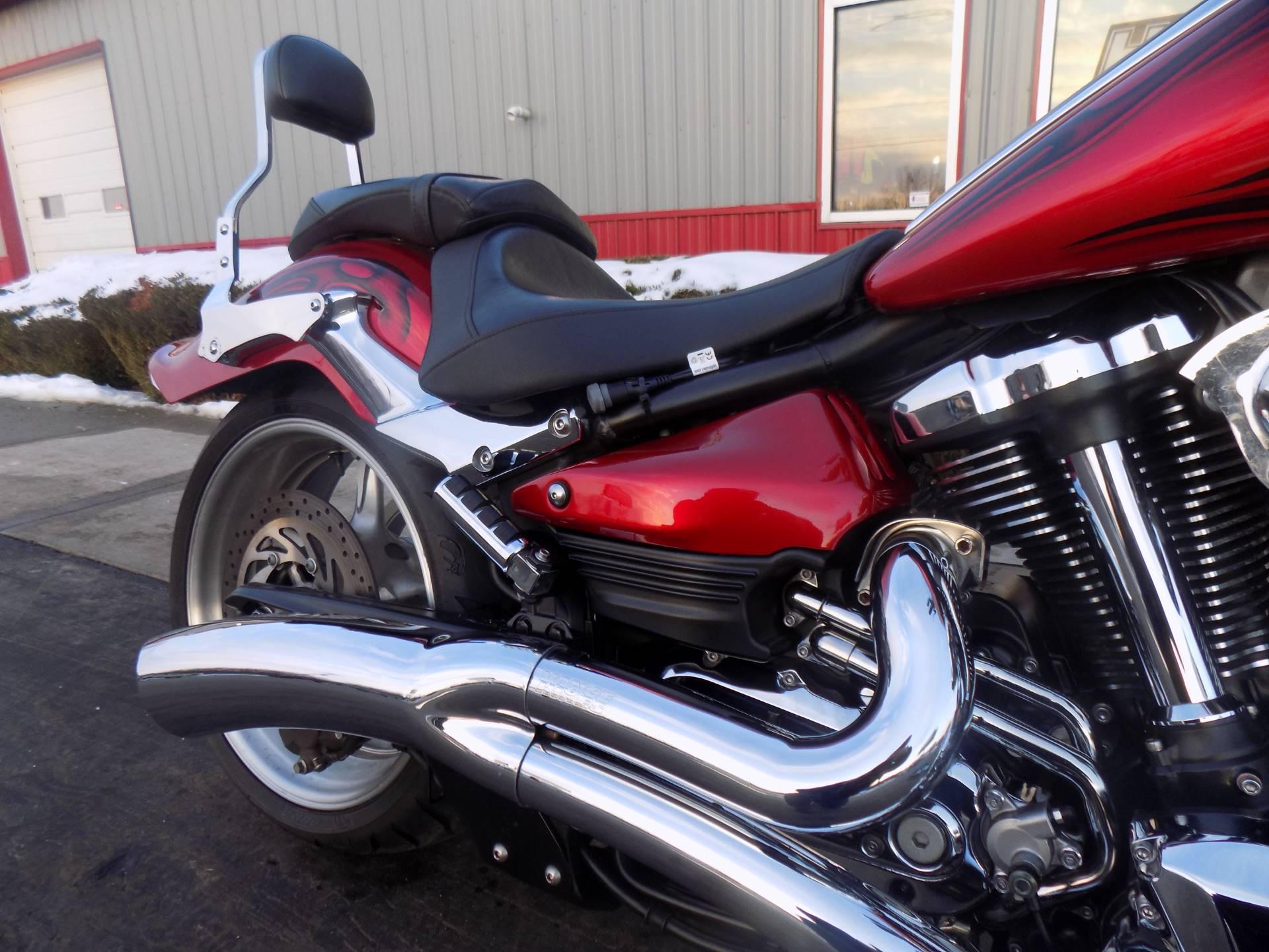 2008 Yamaha Raider S 11