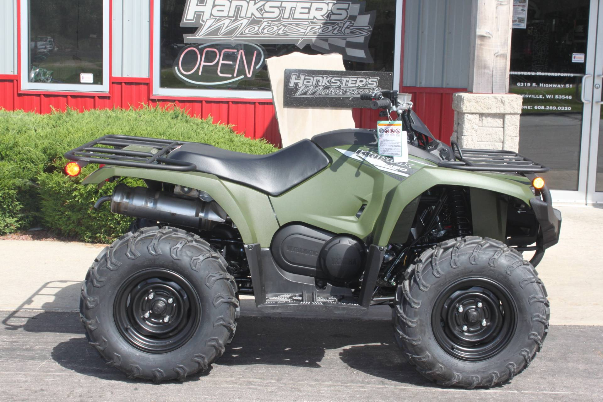 2020 Yamaha Kodiak 450 in Janesville, Wisconsin - Photo 1