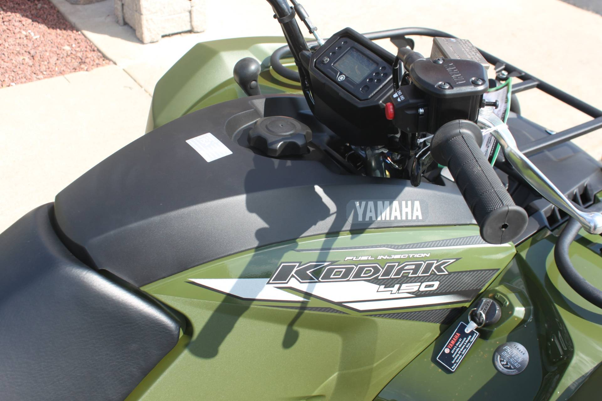 2020 Yamaha Kodiak 450 in Janesville, Wisconsin - Photo 9