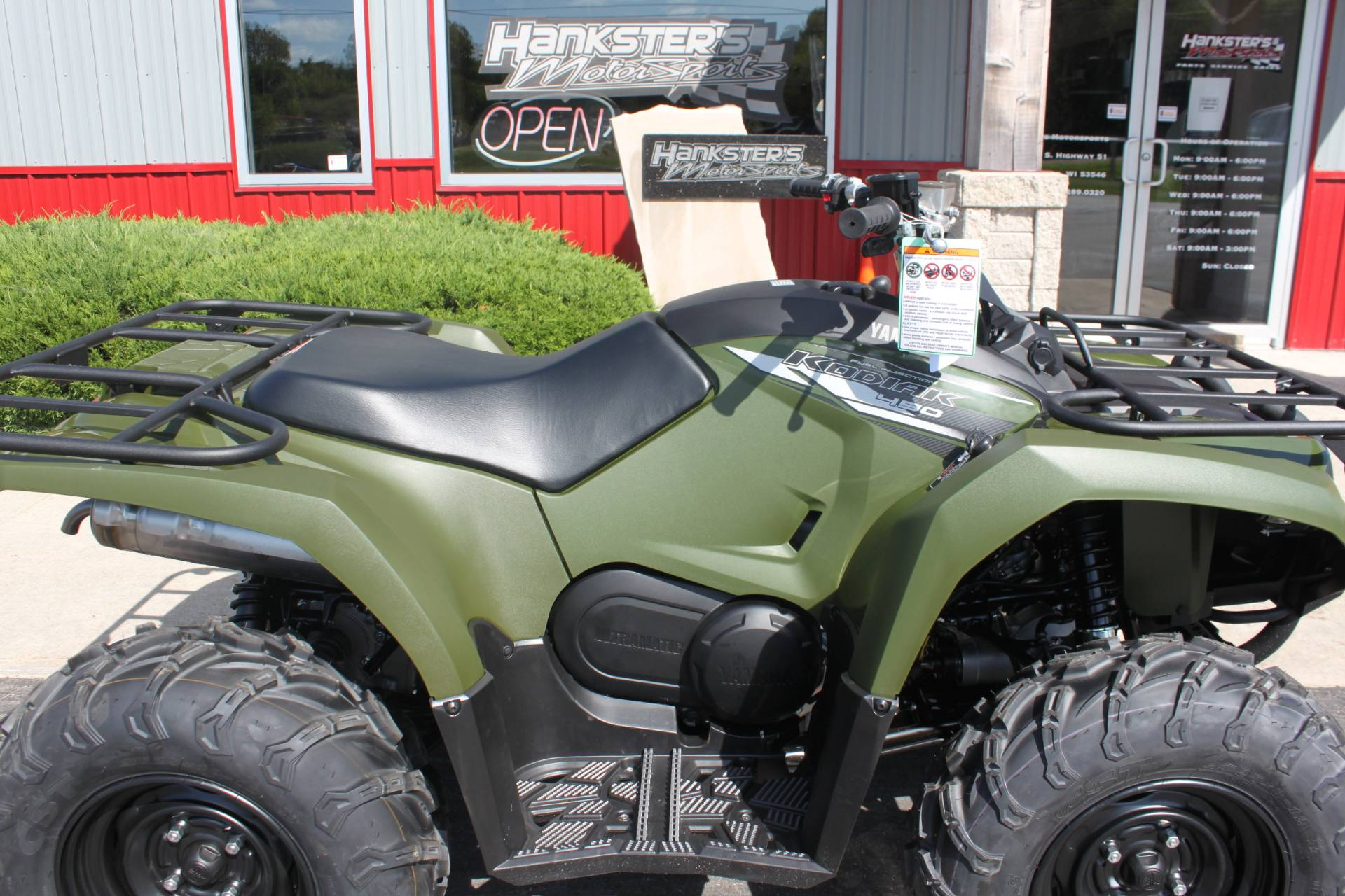 2020 Yamaha Kodiak 450 in Janesville, Wisconsin - Photo 10