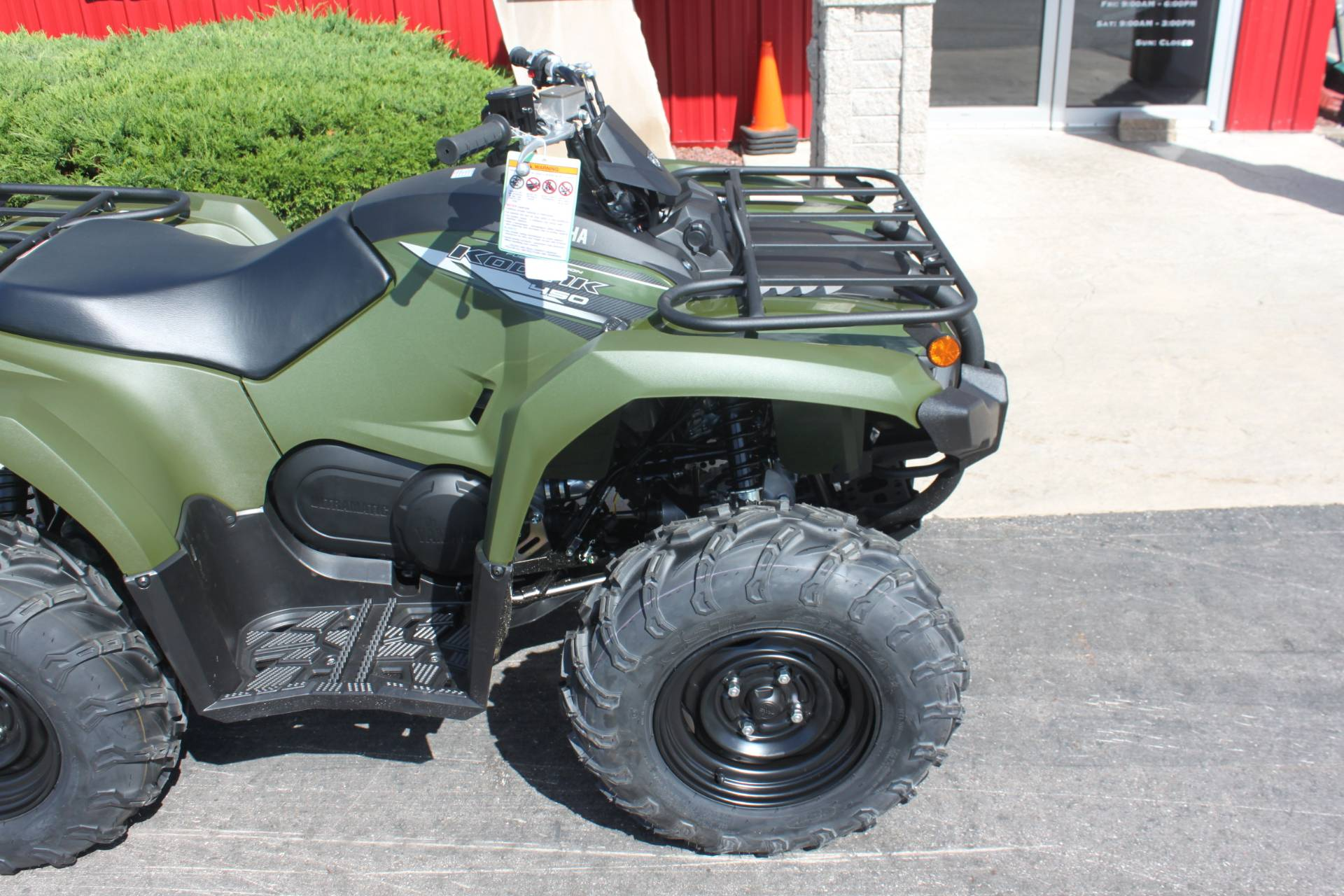 2020 Yamaha Kodiak 450 in Janesville, Wisconsin - Photo 12