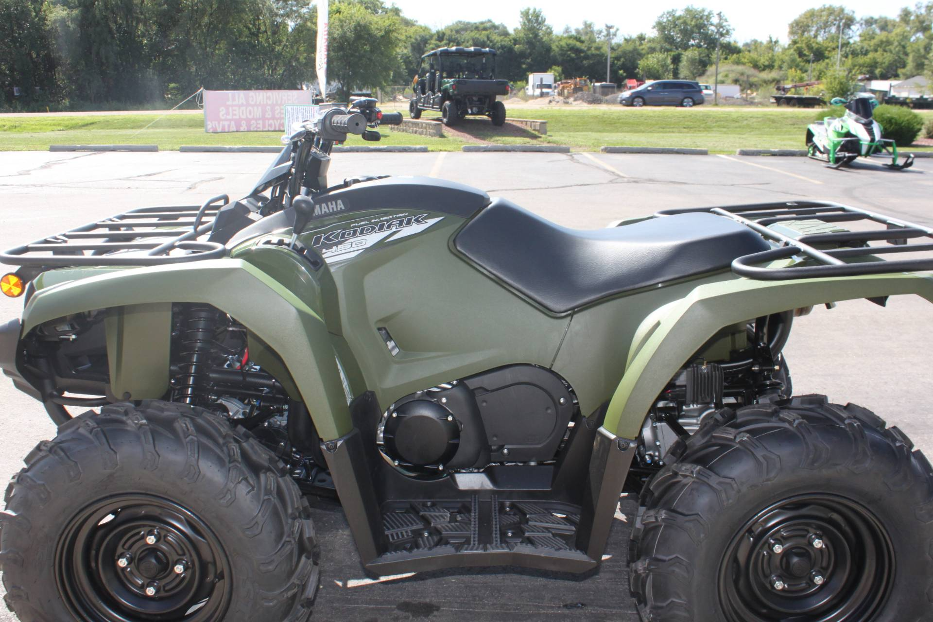 2020 Yamaha Kodiak 450 in Janesville, Wisconsin - Photo 25