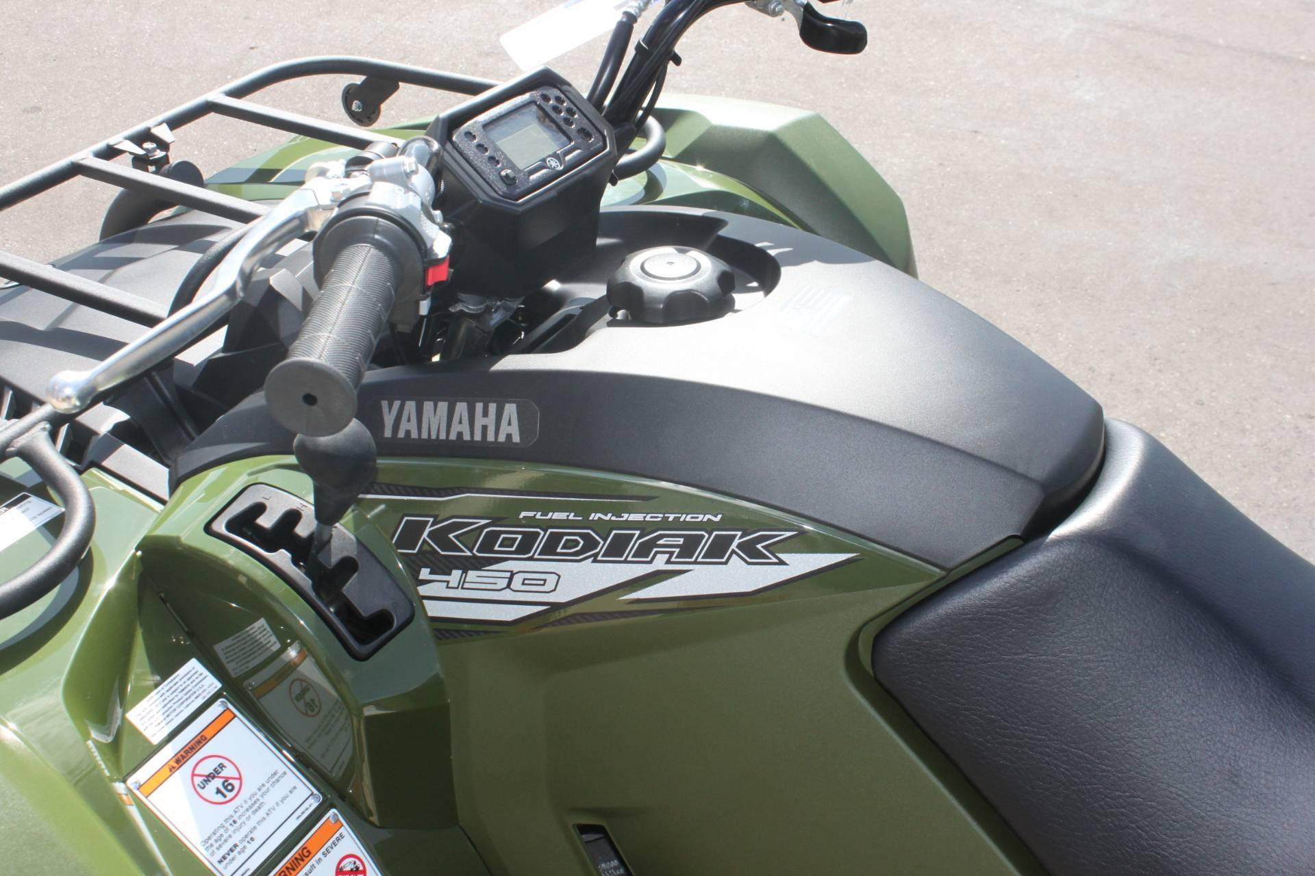2020 Yamaha Kodiak 450 in Janesville, Wisconsin