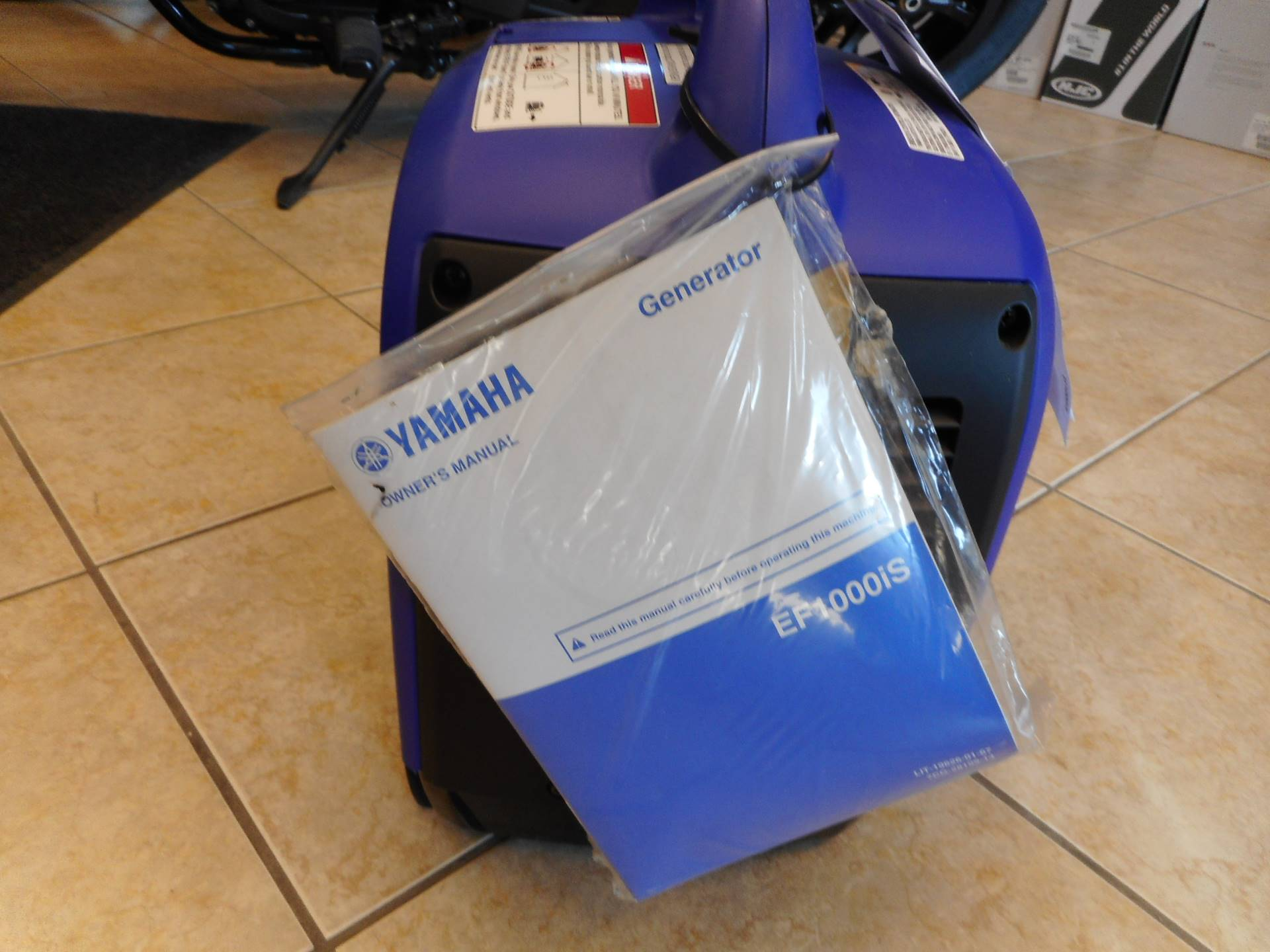2016 Yamaha EF1000iS in Janesville, Wisconsin