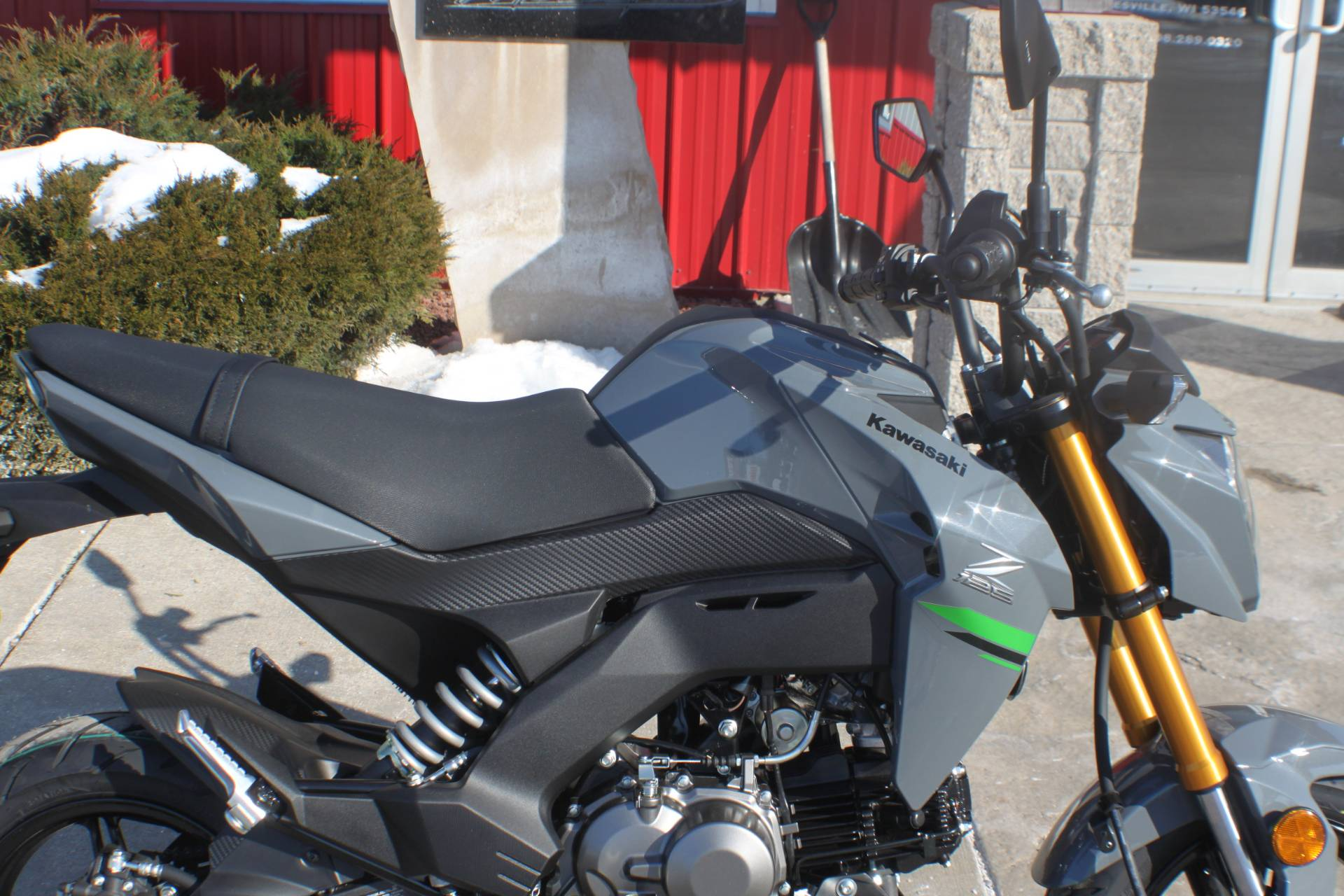 2020 Kawasaki Z125 Pro in Janesville, Wisconsin - Photo 10