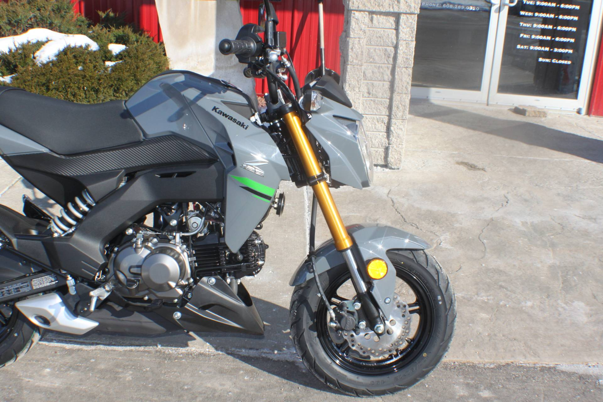 2020 Kawasaki Z125 Pro in Janesville, Wisconsin - Photo 12