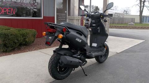 2016 Genuine Scooters Roughhouse 50 in Janesville, Wisconsin