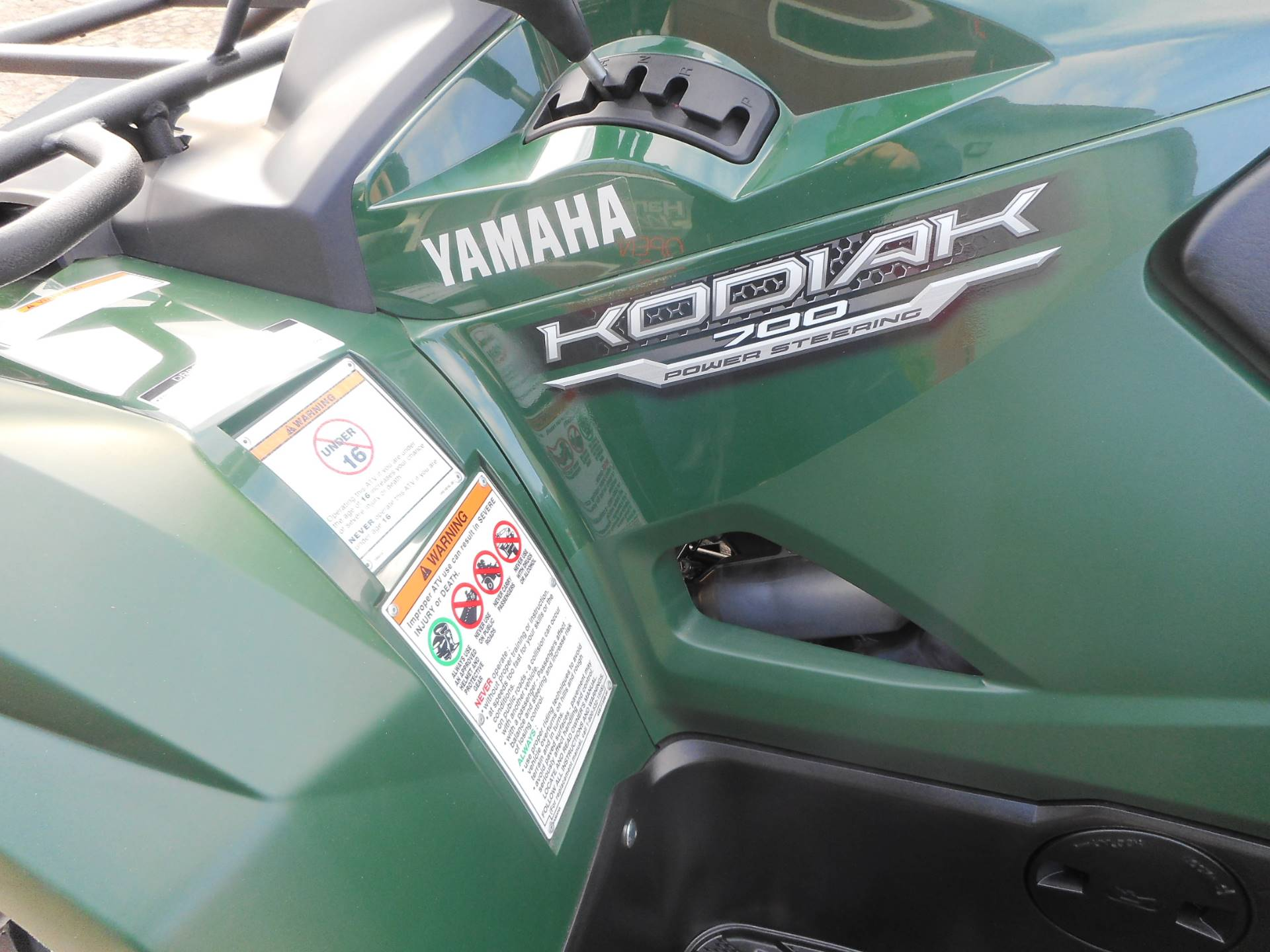 2017 Yamaha Kodiak 700 EPS in Janesville, Wisconsin
