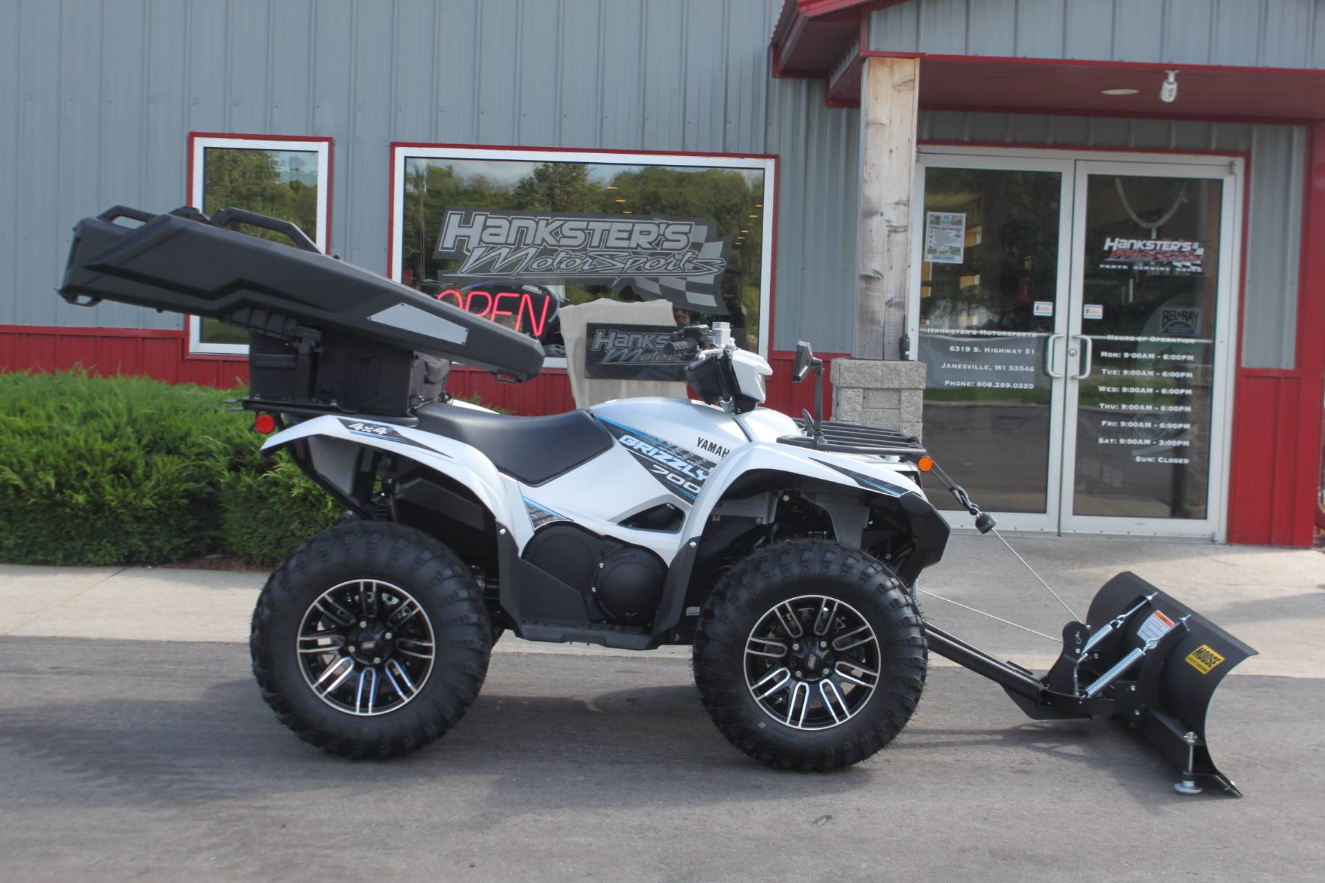 2020 Yamaha Grizzly EPS SE in Janesville, Wisconsin - Photo 1