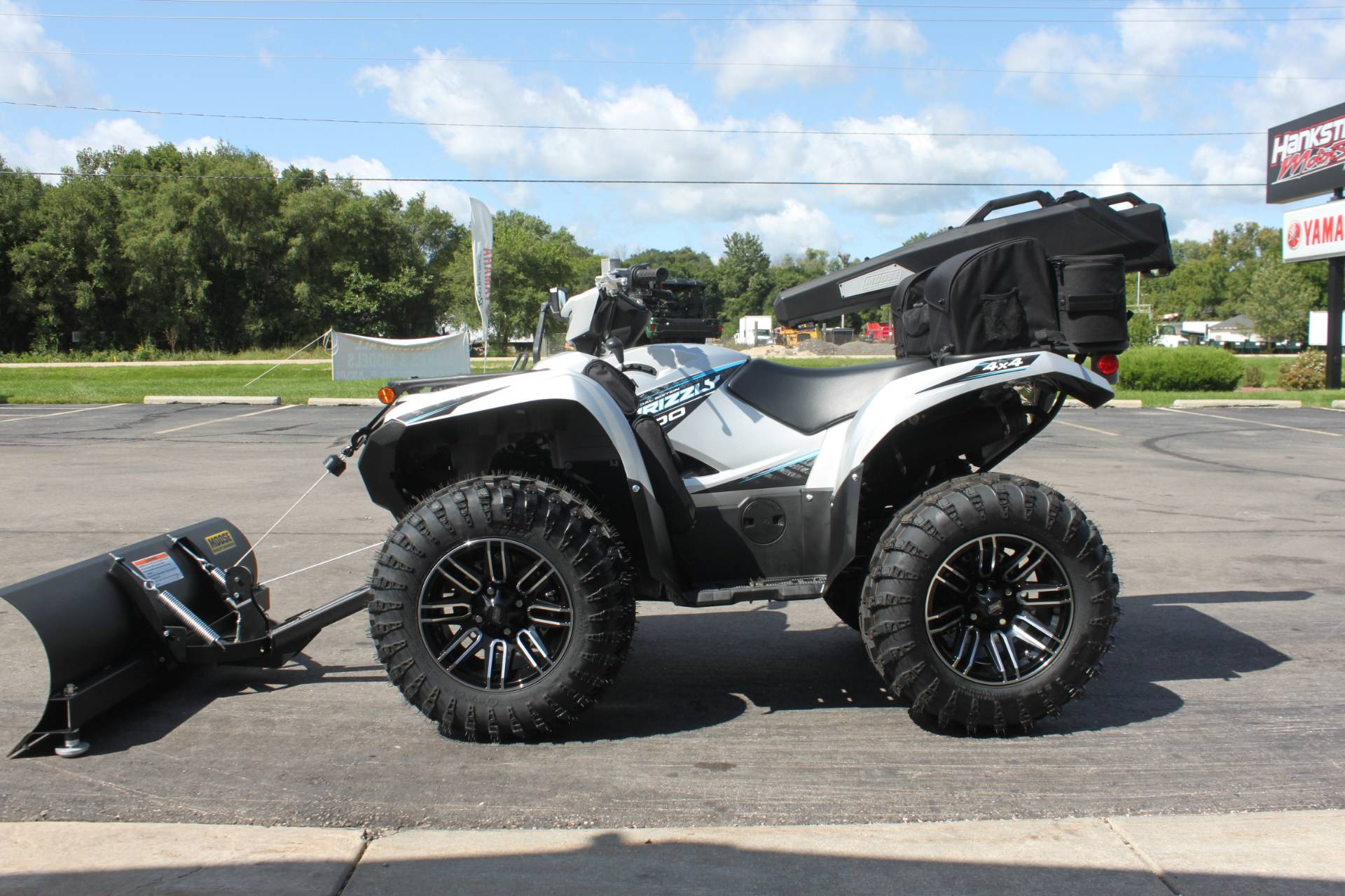 2020 Yamaha Grizzly EPS SE in Janesville, Wisconsin - Photo 8
