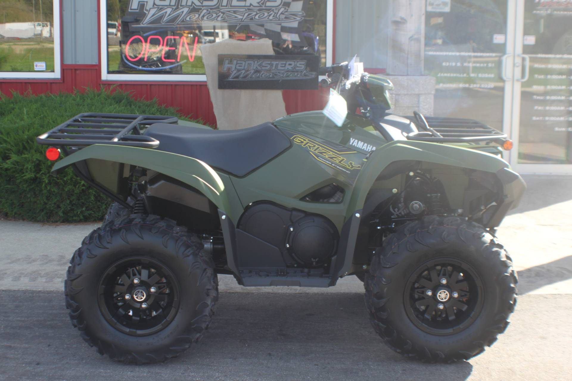2020 Yamaha Grizzly EPS in Janesville, Wisconsin - Photo 1