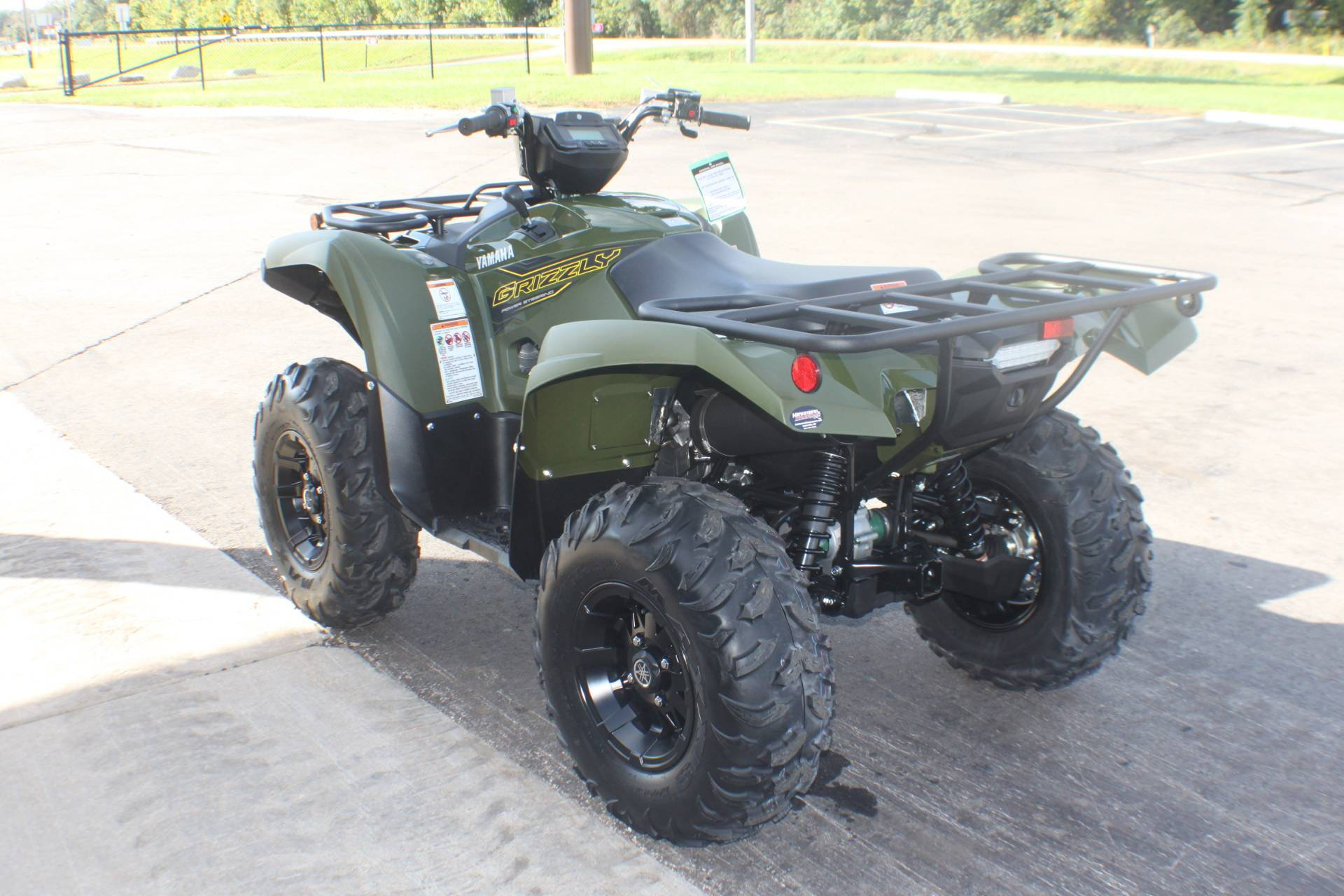 2020 Yamaha Grizzly EPS in Janesville, Wisconsin - Photo 6