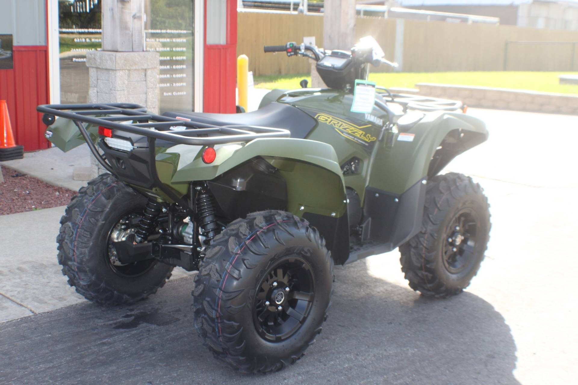 2020 Yamaha Grizzly EPS in Janesville, Wisconsin - Photo 8