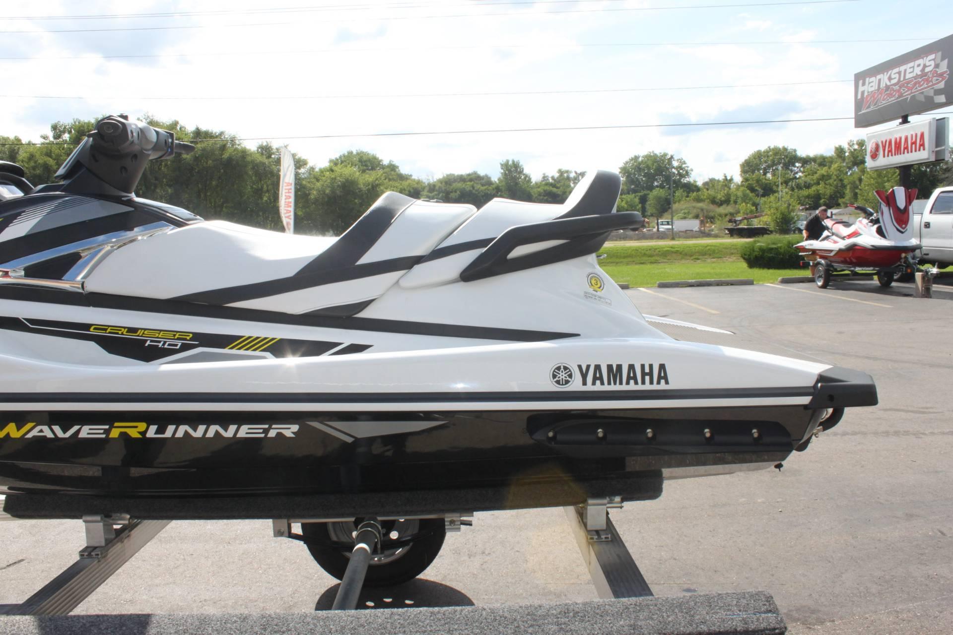 2017 Yamaha VX Cruiser HO in Janesville, Wisconsin