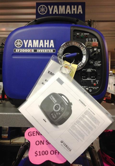 Yamaha EX2000i in Ottumwa, Iowa - Photo 1