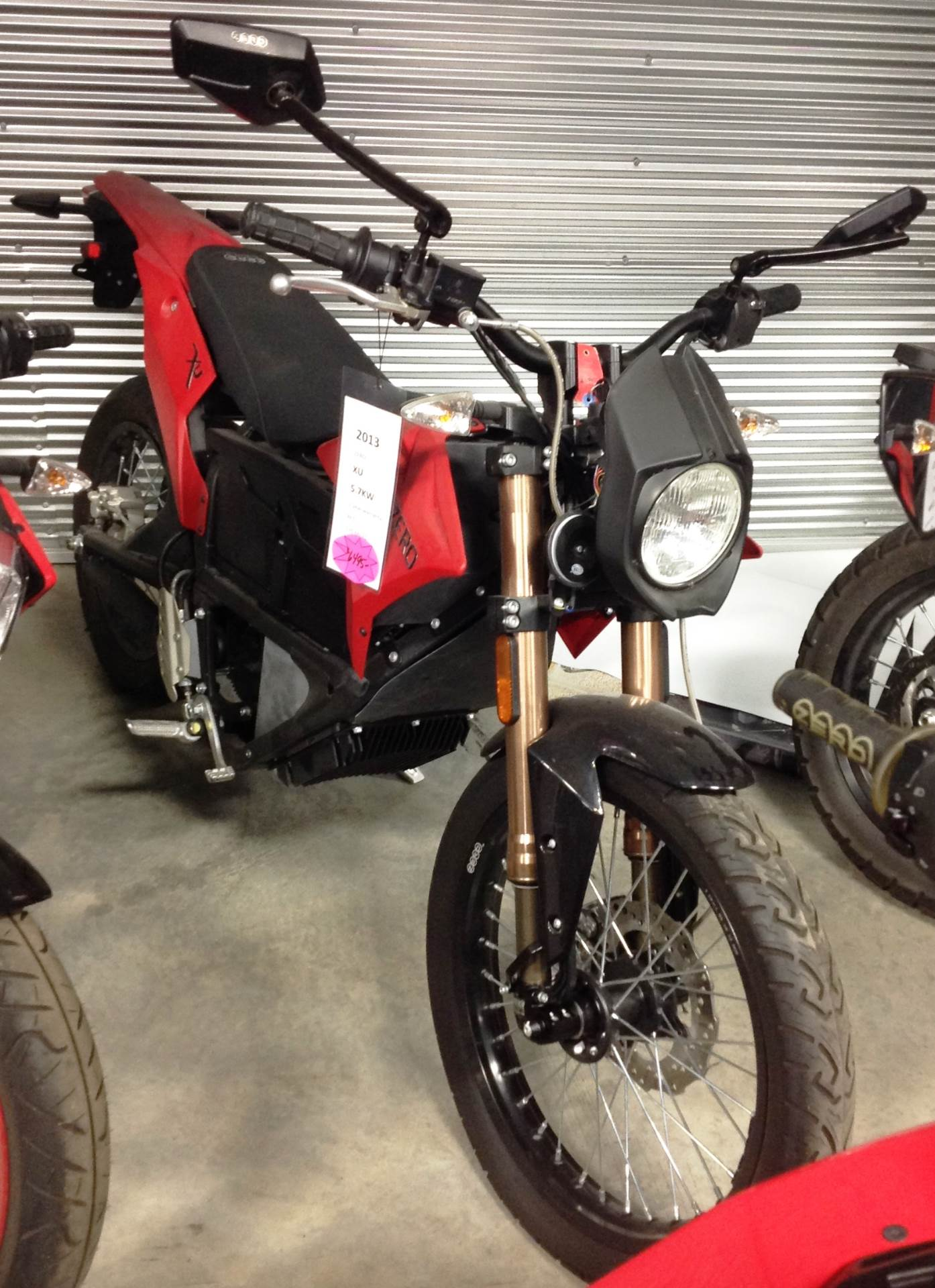 2013 Zero Motorcycles XU ZF5.7 in Ottumwa, Iowa - Photo 1