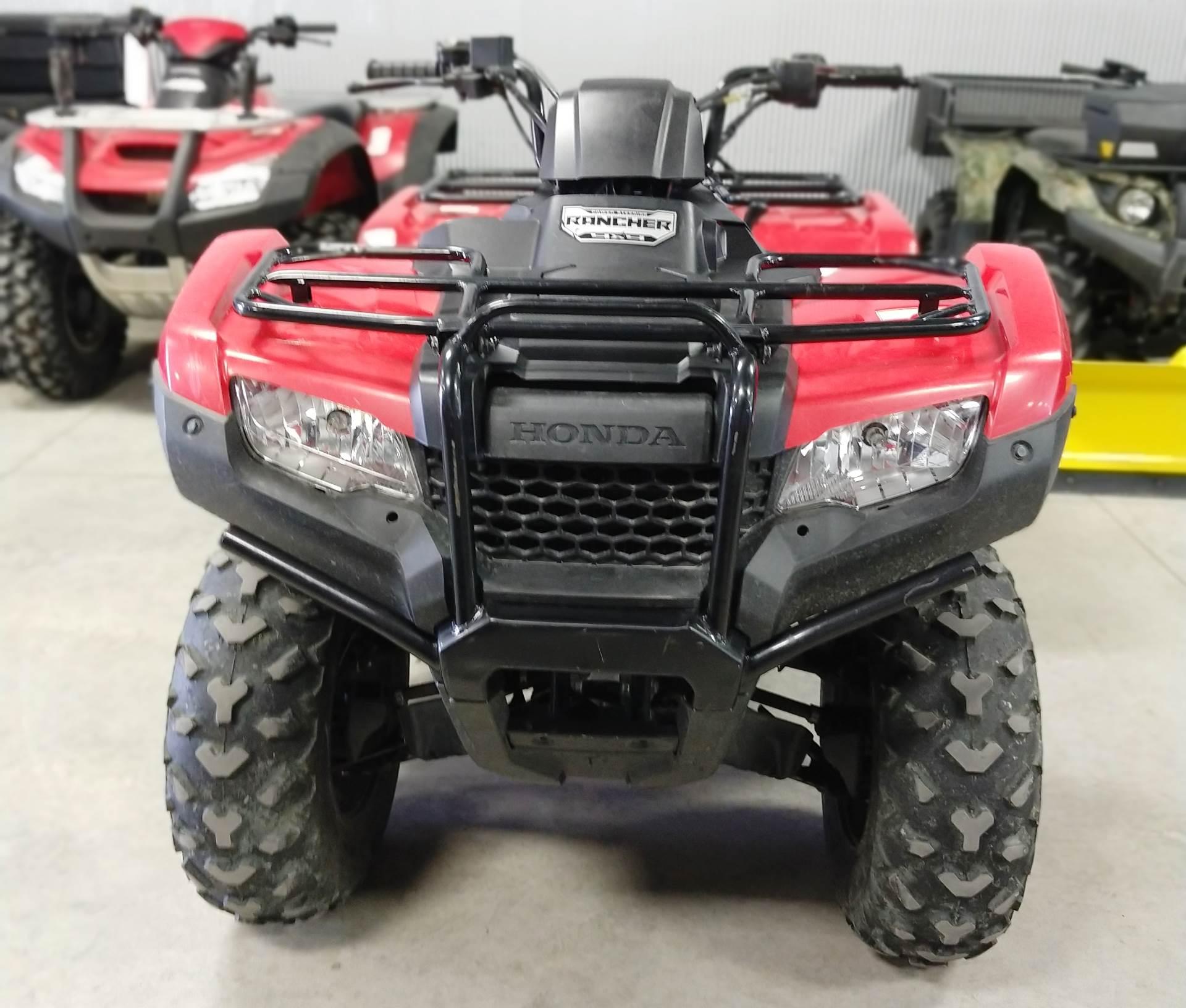 2016 Honda FourTrax Rancher 4x4 Power Steering in Ottumwa, Iowa